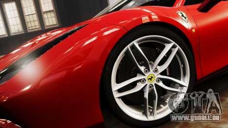 Ferrari 488 GTB 2016 für GTA 4 hinten links Ansicht