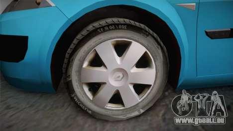 Renault Megane 2 Hatchback v2 pour GTA San Andreas vue de droite