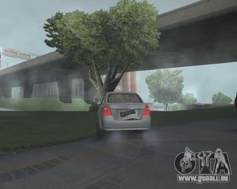 Chevrolet Aveo Armenian pour GTA San Andreas vue de droite