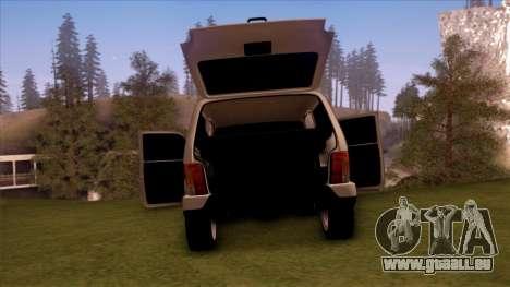 VAZ 2121 pour GTA San Andreas vue intérieure
