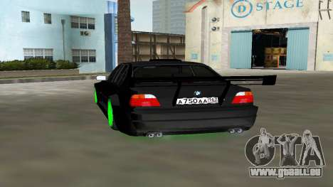 BMW 750 E38 Hamann Turbo Sports für GTA Vice City linke Ansicht