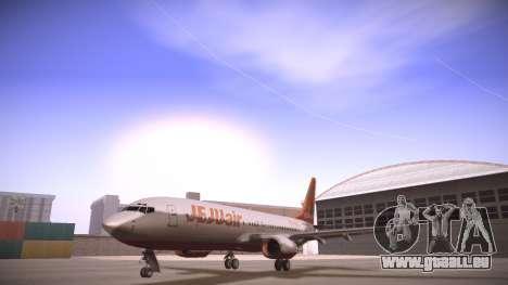 Boeing 737-800 Jeju Air für GTA San Andreas