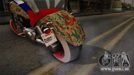 Freeway 2.0 pour GTA San Andreas sur la vue arrière gauche