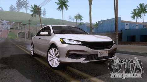 Honda Accord 2017 Stock für GTA San Andreas