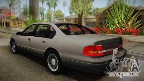 Willard Elegant SA Style pour GTA San Andreas laissé vue