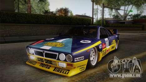 Lancia Rally 037 Stradale (SE037) 1982 HQLM PJ1 für GTA San Andreas