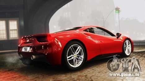 Ferrari 488 GTB 2016 pour GTA 4 est une gauche