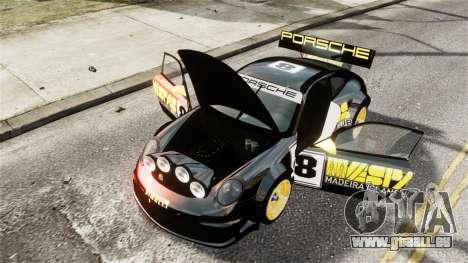Porsche Rallye Vespas 911 GT3 RSR für GTA 4 Seitenansicht