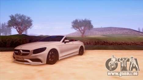 Mercedes-Benz S63 pour GTA San Andreas