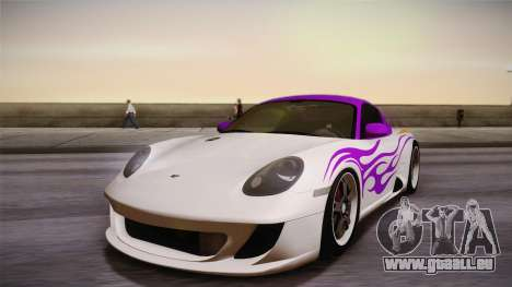 Ruf RK Coupe (987) 2007 IVF pour GTA San Andreas moteur