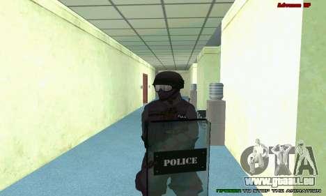 La peau de SWAT GTA 5 (PS3) pour GTA San Andreas dixième écran