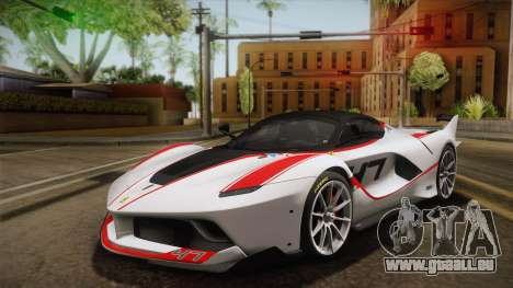 Ferrari FXX-K 2015 für GTA San Andreas Innenansicht