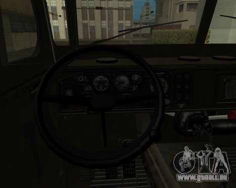 Ural 4320 Armenian für GTA San Andreas Seitenansicht
