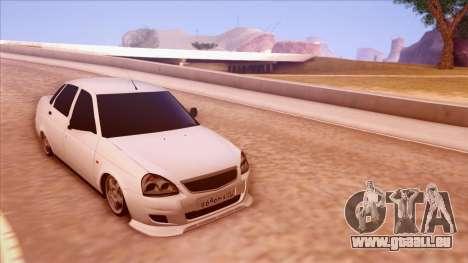 Lada Priora Autozvuk v.1 pour GTA San Andreas