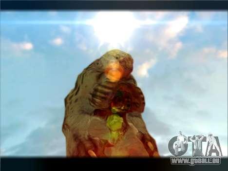 Berzerker from DOOM 3 pour GTA San Andreas deuxième écran