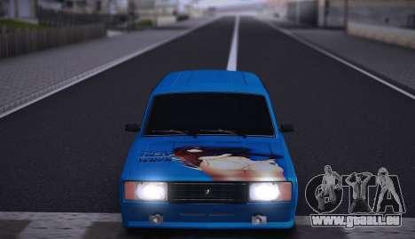 VAZ 2104 Anime pour GTA San Andreas vue arrière