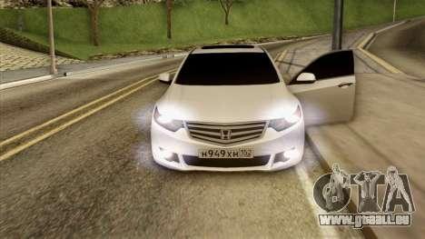 Honda Accord für GTA San Andreas obere Ansicht