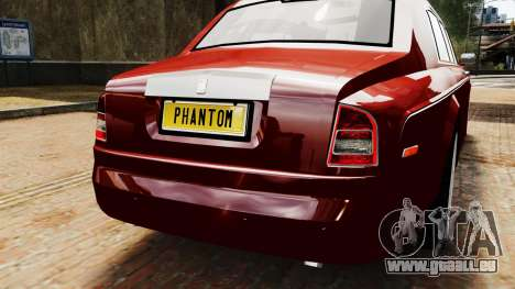 Rolls-Royce Phantom LWB V2.0 pour GTA 4 Vue arrière