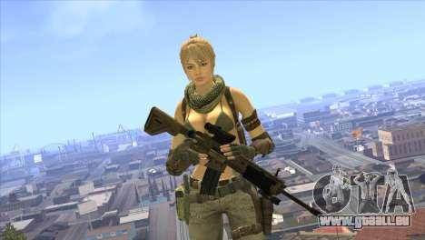 HK416A5 pour GTA San Andreas troisième écran
