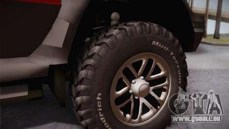 Mitsubishi Pajero 3-Door für GTA San Andreas zurück linke Ansicht