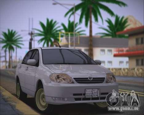 Toyota Corolla 120 für GTA San Andreas