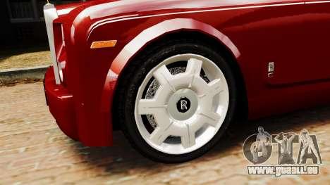 Rolls-Royce Phantom LWB V2.0 pour GTA 4 Vue arrière de la gauche