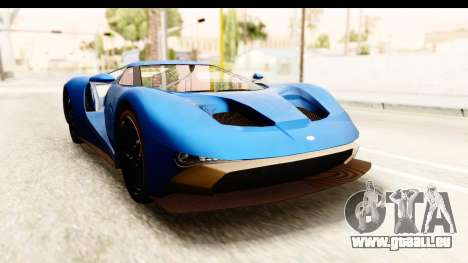 GTA 5 Vapid FMJ SA Style pour GTA San Andreas
