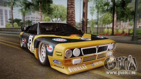 Lancia Rally 037 Stradale (SE037) 1982 Dirt PJ2 für GTA San Andreas
