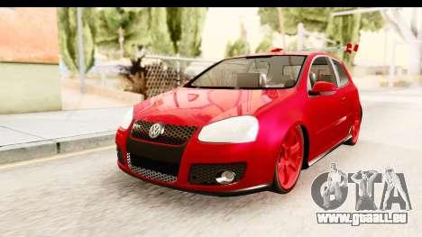 Volkswagen Golf GTI pour GTA San Andreas