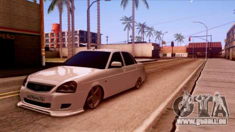 Lada Priora Autozvuk v.2 pour GTA San Andreas
