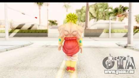 Dragon Ball Xenoverse Broly SSJ2 für GTA San Andreas dritten Screenshot