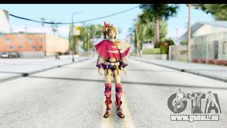 Sengoku Musou 4 - Kunoichi v2 pour GTA San Andreas deuxième écran
