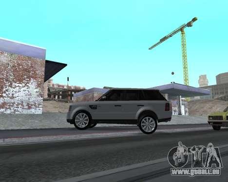 Range Rover Armenian pour GTA San Andreas sur la vue arrière gauche