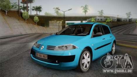 Renault Megane 2 Hatchback v2 pour GTA San Andreas