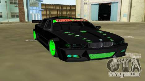 BMW 750 E38 Hamann Turbo Sports für GTA Vice City