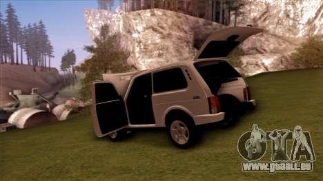 VAZ 2121 für GTA San Andreas obere Ansicht