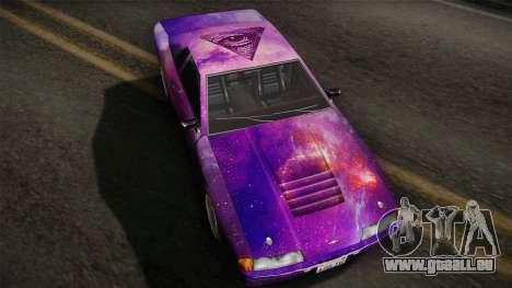 20egt Elegy PaintJob 5 für GTA San Andreas zurück linke Ansicht