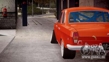 GAZ 24 pour GTA 4 Vue arrière