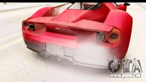 GTA 5 Vapid FMJ IVF pour GTA San Andreas vue de côté