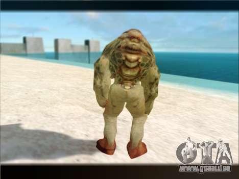 Berzerker from DOOM 3 pour GTA San Andreas quatrième écran