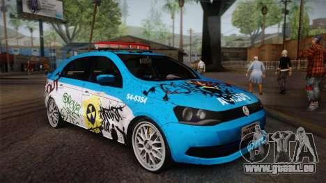 Volkswagen Voyage G6 Pmerj Graffiti für GTA San Andreas