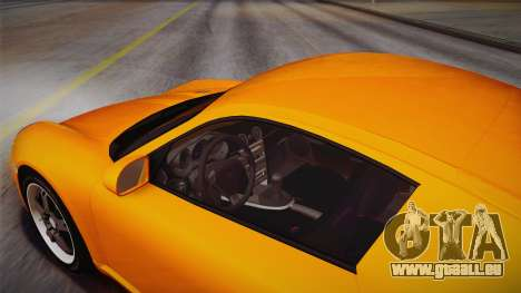 Ruf RK Coupe (987) 2007 IVF für GTA San Andreas Innenansicht