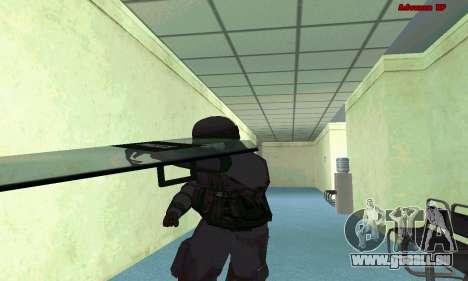 La peau de SWAT GTA 5 (PS3) pour GTA San Andreas septième écran