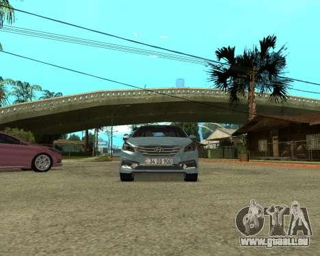 Hyundai Sonata Armenian pour GTA San Andreas vue de droite