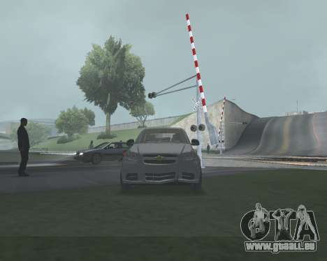 Chevrolet Aveo Armenian pour GTA San Andreas salon