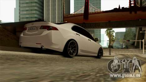 Honda Accord für GTA San Andreas zurück linke Ansicht
