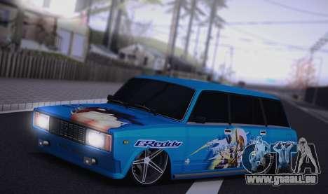 VAZ 2104 Anime pour GTA San Andreas laissé vue