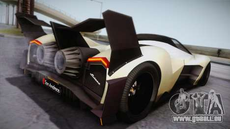 Devel Sixteen für GTA San Andreas linke Ansicht