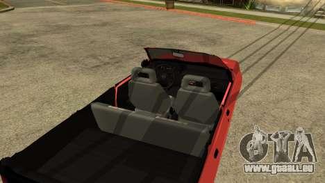 Opel Kadett AcademeG edition für GTA San Andreas rechten Ansicht