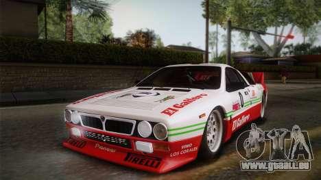 Lancia Rally 037 Stradale (SE037) 1982 HQLM PJ1 pour GTA San Andreas vue de droite